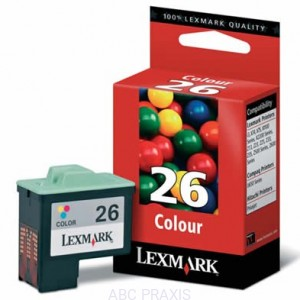 Cartridge Lexmark nr 26 (kolor) oryg.