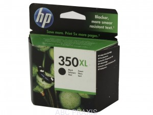 Cartridge HP nr 350XL (czarny) oryg. / termin do: 10.2018